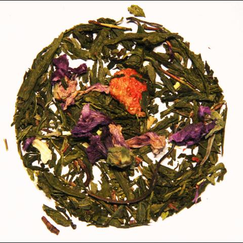 Thé vert et Thé blanc JARDIN FLEURI BIO