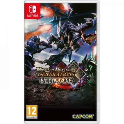 Monster Hunter Generations Ultimate-SWITCH