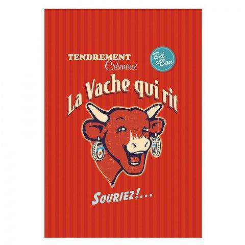 Lot de 2 torchons Vache qui Rit Rétro COUCKE