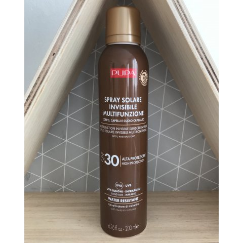Spray Solaire SPF30 invisible multifonctions Visage et Corps Pupa