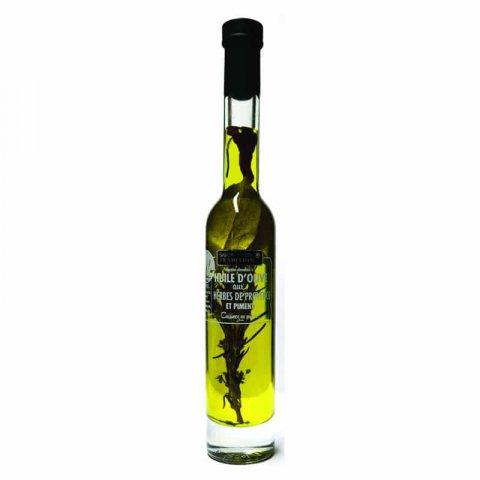 Préparation à l'Huile d'olive aux herbes de Provence et piment de Caye