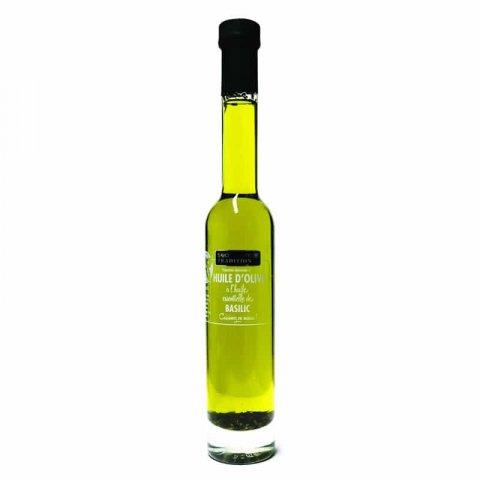Préparation à l'huile d'olive au basilic