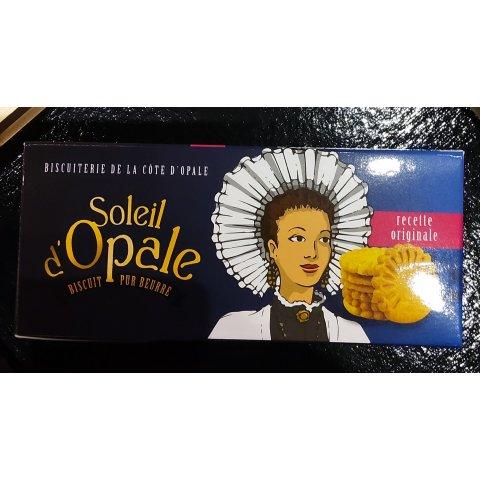 Biscuits pur beurre caramel 180grs Soleil d'Opale