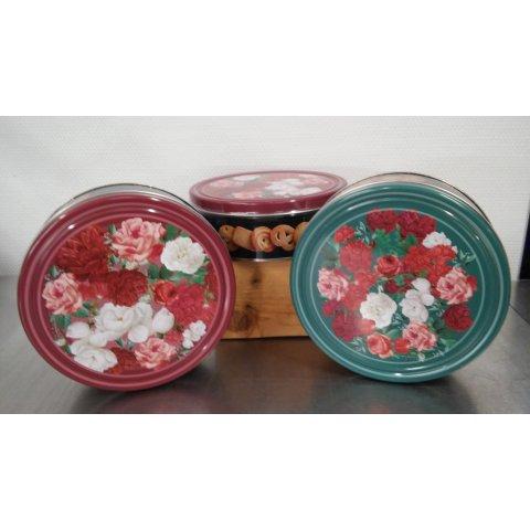 Boîte à biscuits. 454grs
