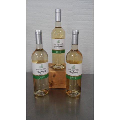 Vin Blanc chardonnay 2018 Ribeaupierre