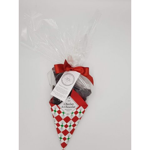 Bouquet de chocolat noir au piment d'espelette
