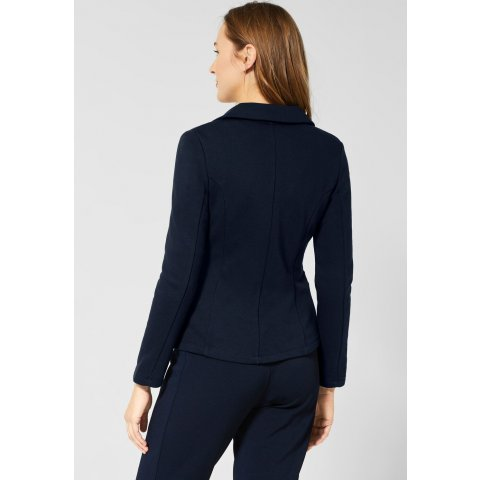 Blazer Femme Bleu marine