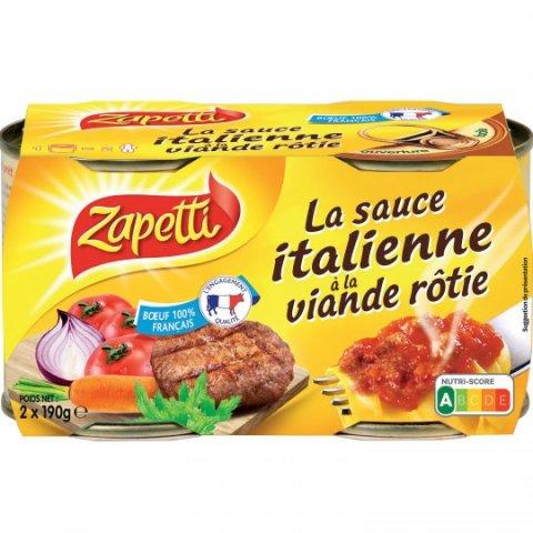 Sauce italienne ZAPETTI