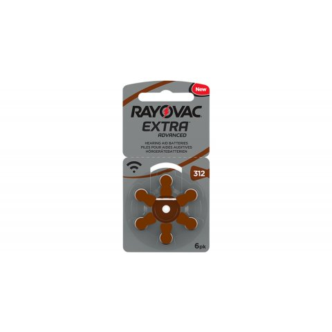 PILE AUDITIVE 312 RAYOVAC EXTRA (X6)