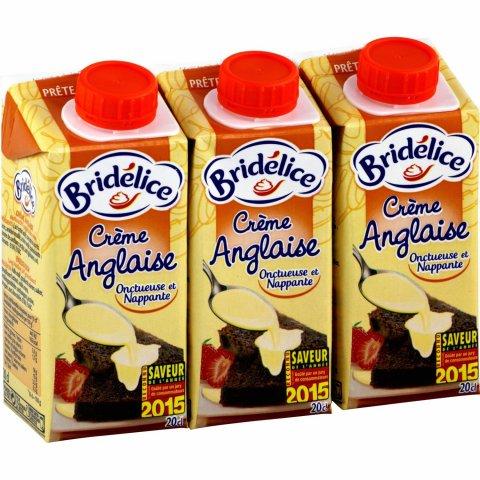Crème anglaise BRIDELICE