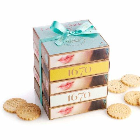 Petits sablés aux pépites de chocolat de la Marquise de Sablé