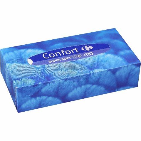 Mouchoirs Confort Super Soft CARREFOUR