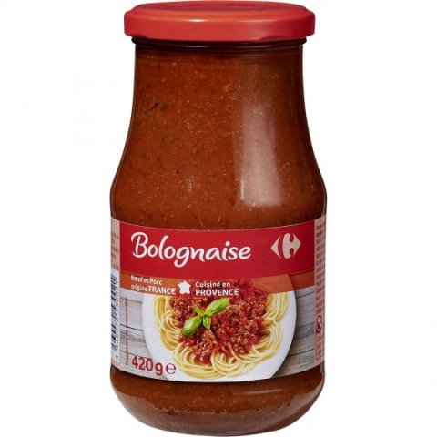 Sauce Bolognaise CARREFOUR
