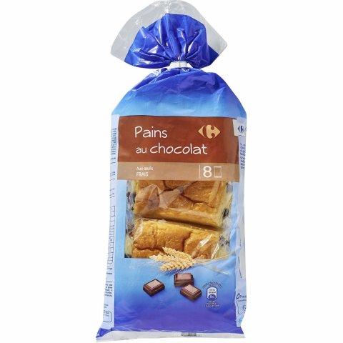 Pains au chocolatX8 CARREFOUR