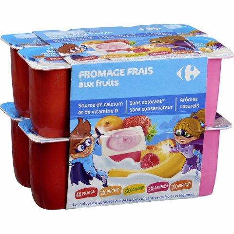 Fromages frais aux fruits CARREFOUR