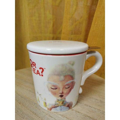 OR TEA. Mug Blanc