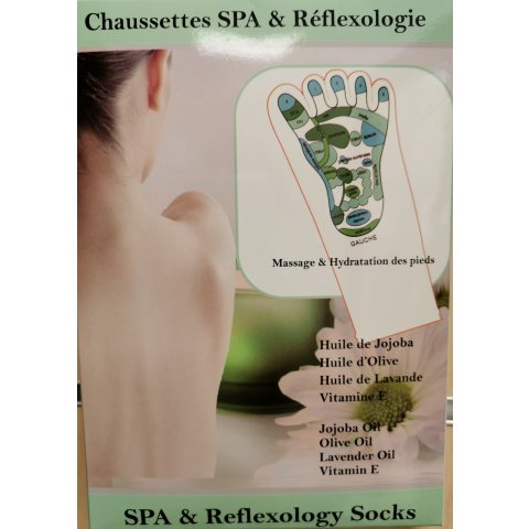 Chaussettes SPA et Réflexiologie