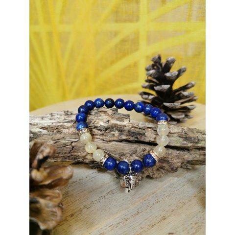 Bracelet Lithothérapie Lapis Lazuli