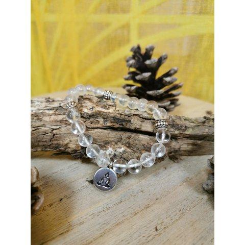 Bracelet Lithothérapie Cristal de Roche