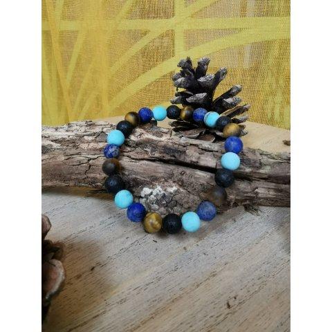 Bracelet Lithothérapie Multi-pierres