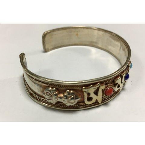 Bracelet Métal Blanc