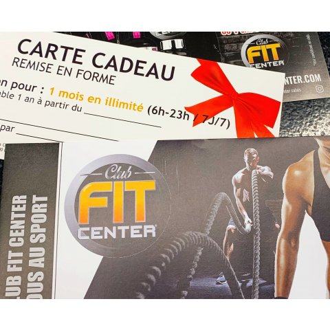 CARTE CADEAU FITNESS MUSCULATION
