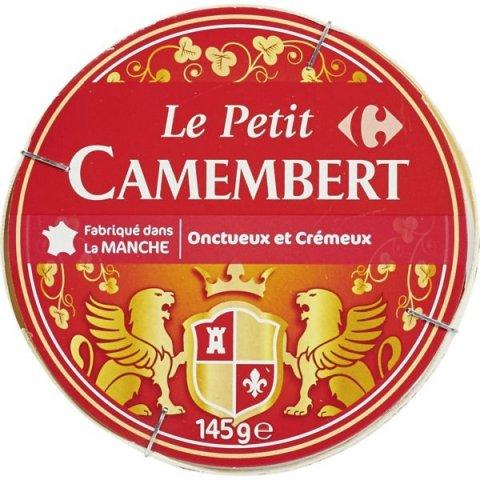 Le petit Camembert .250grs CARREFOUR