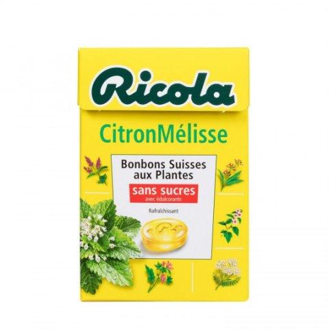 Bonbons citron mélisse s/sucres RICOLA