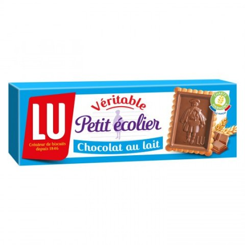 Petit écolier chocolat lait. LU