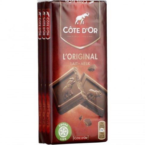 Chocolat au lait COTE D'OR