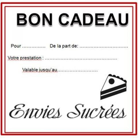 Atelier de pâtisserie- Bon Cadeau