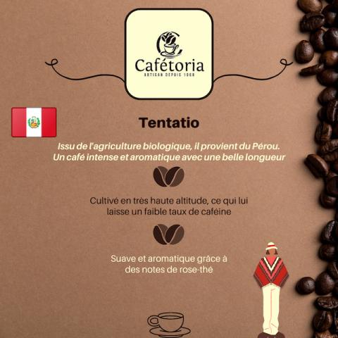 CAFÉ TENTATIO - PÉROU
