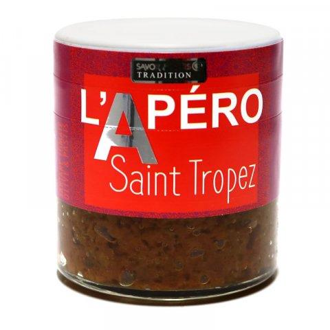 L'Apéro A Saint TROPEZ (tartare tomate olive et pastis)