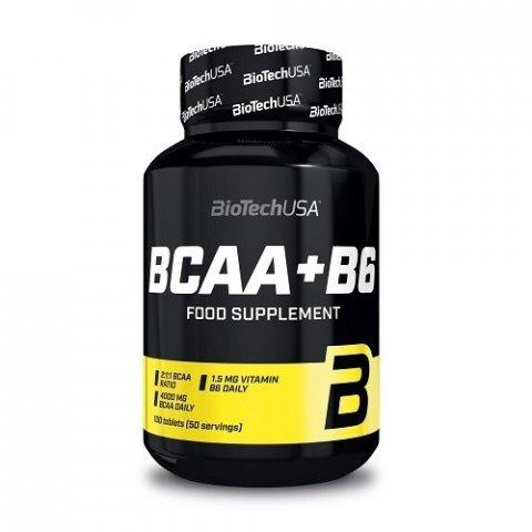 Bcaa+B6. 100 Gélules