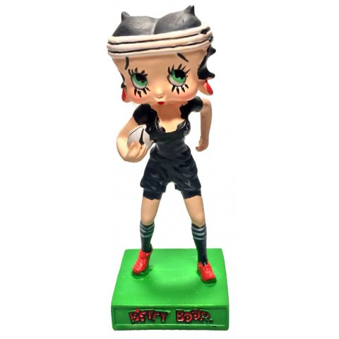 Betty Boop Joueuse de Rugby