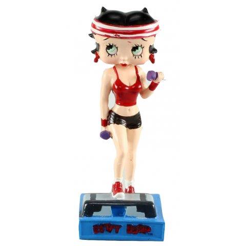 Betty Boop Prof de Fitness