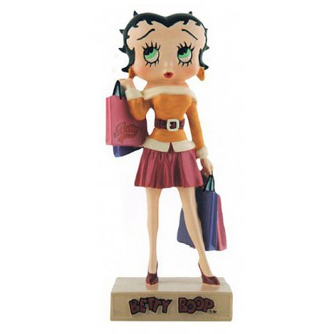 Betty Boop Fait du Shopping