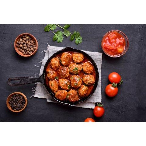 Boulette sauce provençal
