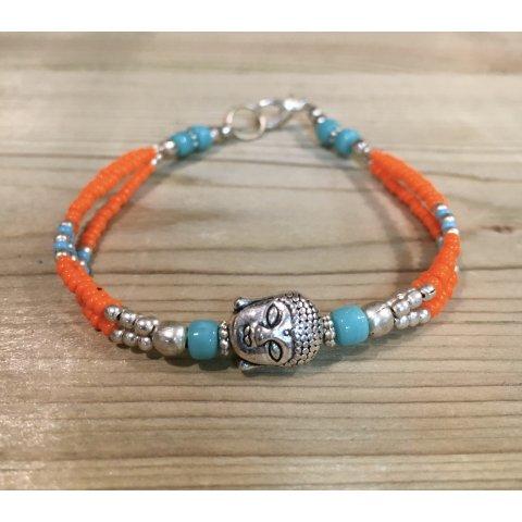 Bracelet en perle. Fabrication artisanale