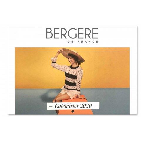 Calendrier Bergère de France 2020