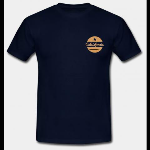 T-shirt La Calaisfornie Navy Blue