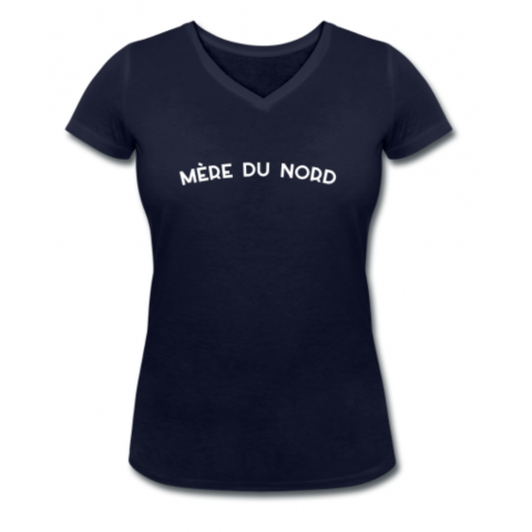 T-shirt Femme Col V Mère du Nord