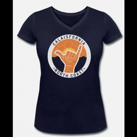 T-shirt Femme Shaka Navy