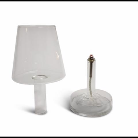 "Lampe à huile  PERI DESIGN - forme ""SALON"""