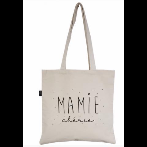 """Tote-Bag """"Mamie Chérie"""""""