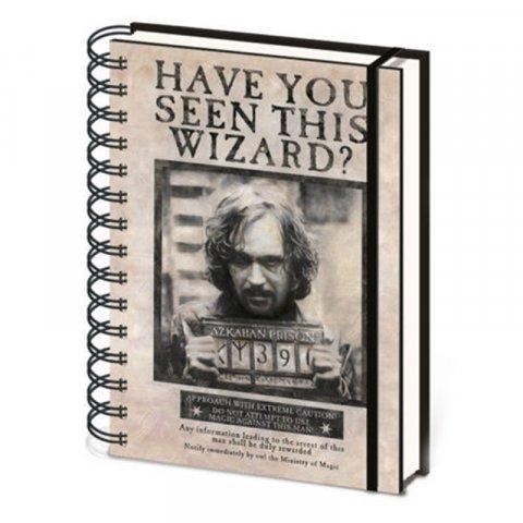 Carnet Bloc Notes A5 Harry Potter Sirius et Harry 3D