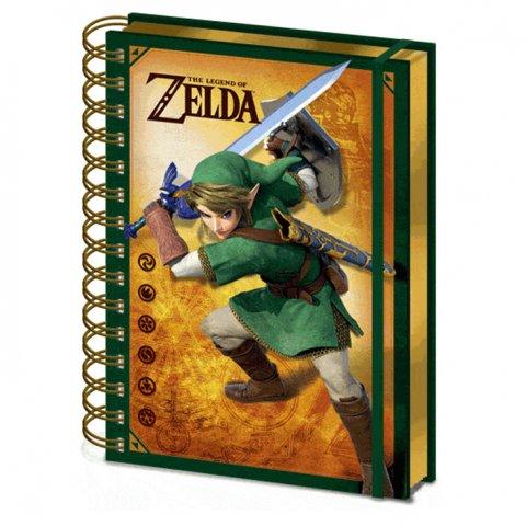 Carnet Bloc Notes Zelda 3D