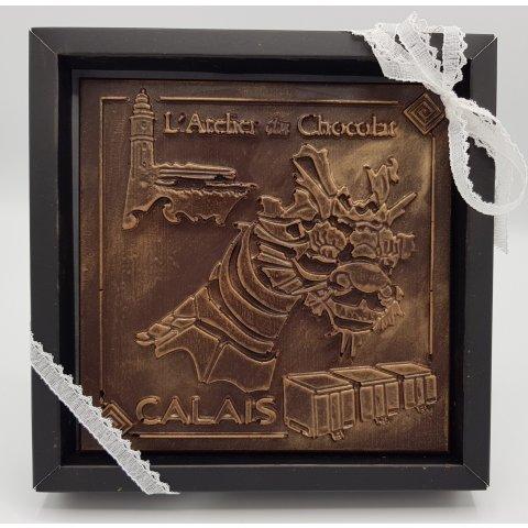 Carré de chocolat dragon