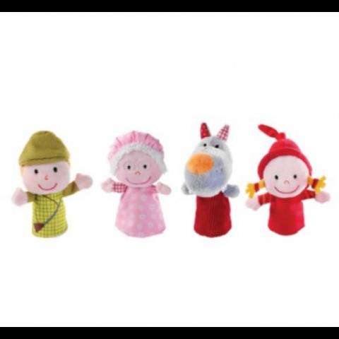 """Marionnettes à doigts """"Chaperon Rouge"""". LILLIPUTIENS"""