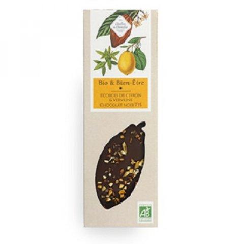 Tablette Bio Verveine & Citron confit.